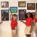 Art Exhibit by Fort Bend Christian Academy Students Debuts at Fort Bend Children's Discovery Center