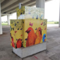 Traffic Box Art Project Exhibition and Reception scheduled for November 7th