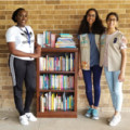 Patel and Sobrinho Earn Girl Scout Silver Awards