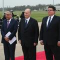 Secretary Pablos Welcomes  His Highness The Aga Khan to Texas