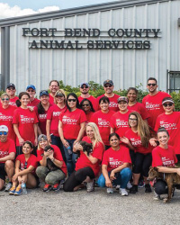 Keller Williams (KW) Southwest REDDAY Team Focuses on Fort Bend's Fur Babies