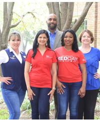 Keller Williams Southwest Paints The 	Town Red With Giving