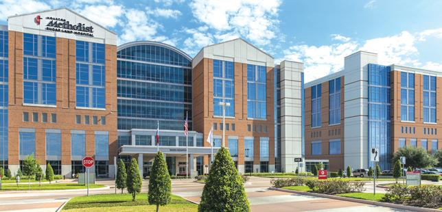 Houston Methodist Sugar Land Hospital in 2020.